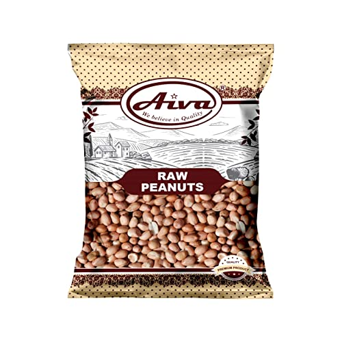 AIVA - Raw Spanish Peanuts - 5 lb. Bulk Box