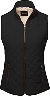 Awesome21 Women's Solid Puffer Reversible Vest