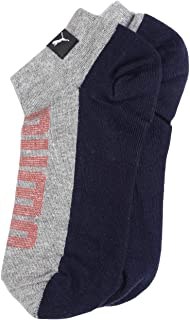 Puma Men's Synthetic Athletic Socks (Pack of 2)