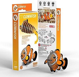 EUGY 037 Clownfish Eco-Friendly 3D Paper Puzzle