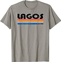 Vintage 70s 80s Style Lagos, Nigeria T-Shirt