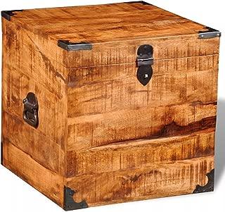 mango wood blanket box