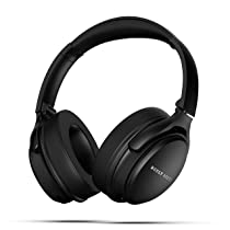 Boult Audio ProBass Anchor Over-Ear Active Noise Cancellation Wireless Headphones with 30hrs Playtime,Extra Bass with 40 mm Drivers & Microphone