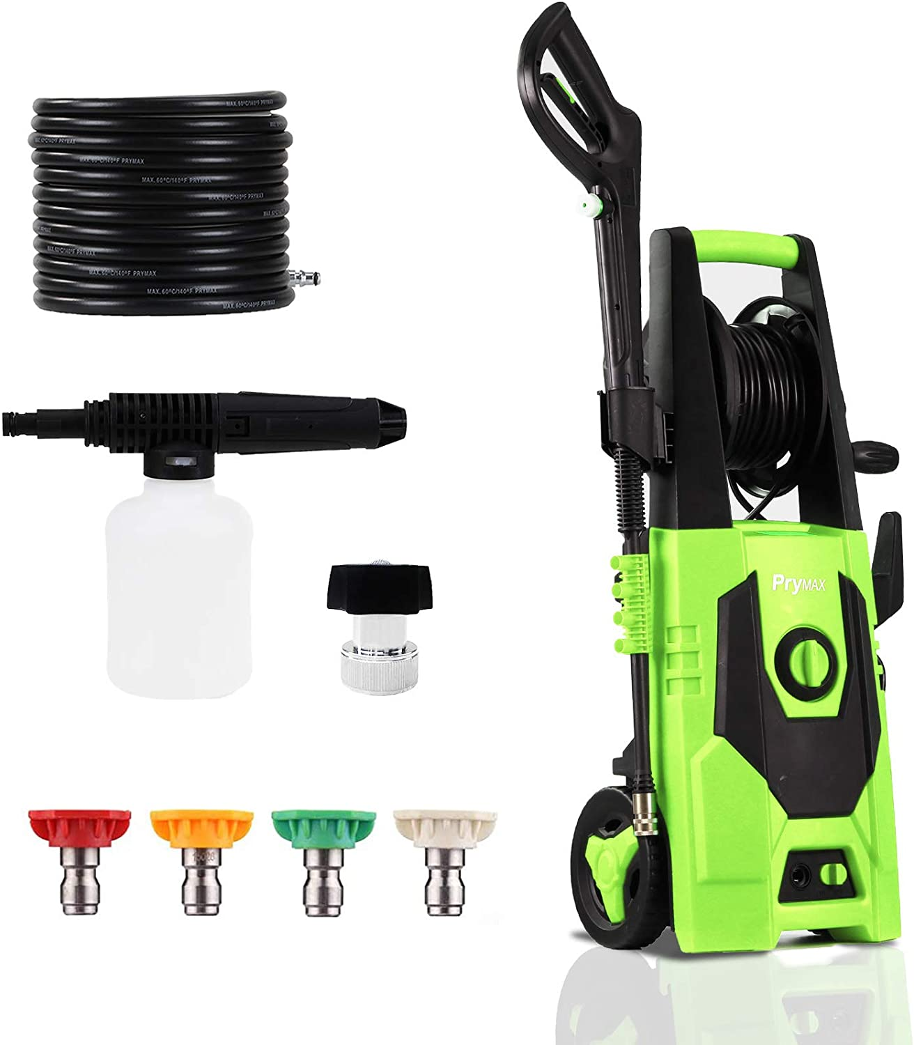 PRYMAX Quality inspection Pressure Washer Popular popular 3000 PSI 1.8 Car Power Electric 1800 GPM