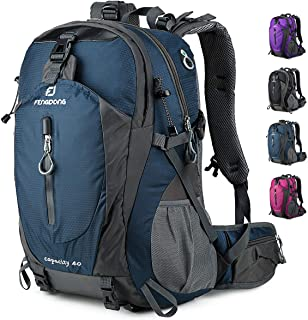 40L Waterproof Lightweight Hiking,Camping,Travel Backpack for Men Women