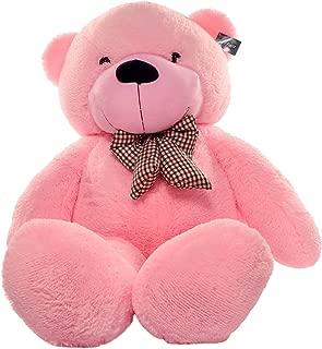 Joyfay Giant Pink Teddy Bear- Big 5 ft (63 inch) Teddy Bear. Huge Plush Stuffed Animal. Exactly Like Picture. Ships Quickly.