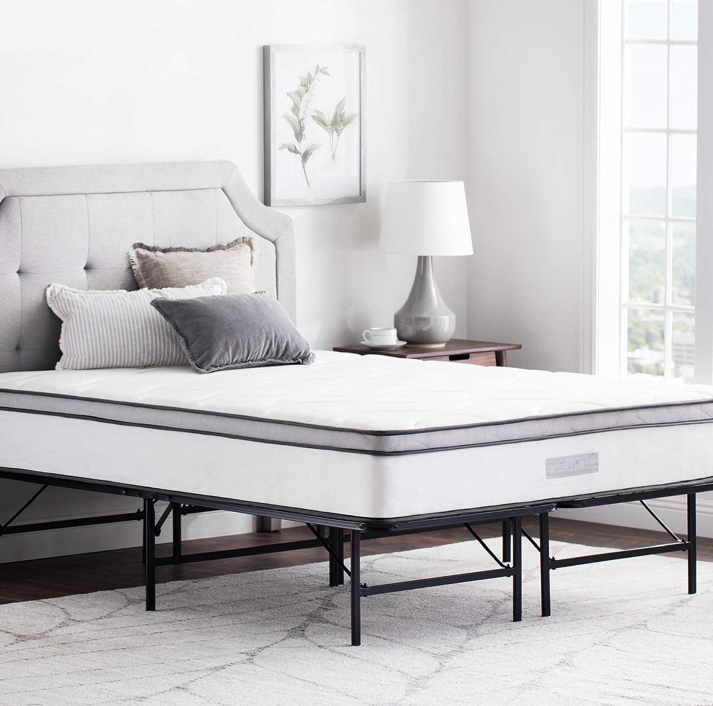 WEEKENDER 14 San Jose Mall Inch Folding Platform Bed Extra Bas 2021 spring and summer new Frame - Storage