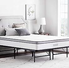 إطار سرير منصة قابلة للطي مقاس 35.56 سم من ويكندر - قاعدة تخزين إضافية لجميع أنواع المراتب - كامل