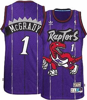adidas Tracy McGrady Toronto Raptors Purple Throwback Swingman Jersey