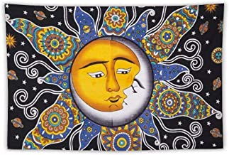 sun and moon kissing