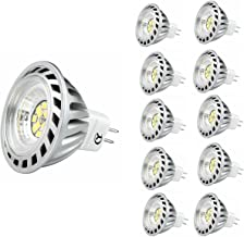 CY LED 6W MR16 G53 LED Bulbs, 50W Halogen Bulbs Equivalent, 500lm, Warm White,3000K,45°Beam Angle,Recessed Lighting,Track ...
