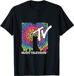 Classic MTV Melting Tie Dye T- Shirts T-Shirt