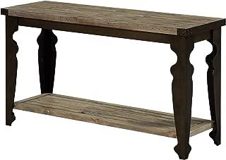 Emerald Home Furnishings Valencia Pine Sofa Table