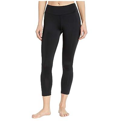 Reebok Workout Ready 7/8 Tights (Black/Black) Women