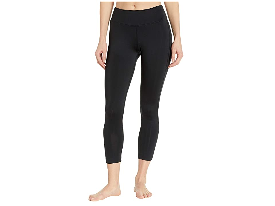 Reebok Workout Ready 7/8 Tights (Black/Black) Women