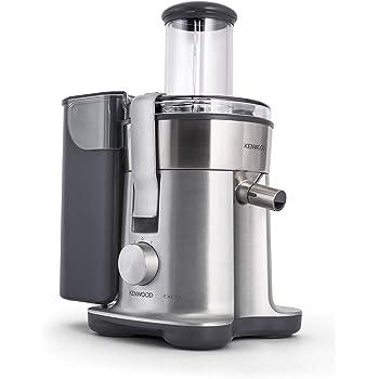 Kenwood PureJuice Pro Extractor de nutrientes, licuadora de zumos naturales, entrada dual alimentos, depósito para pulpa, función aclarado y tapón anti-goteo 240 W, 1.5 L, plástico, aluminio: Amazon.es: Hogar
