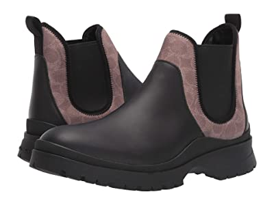 COACH Hybrid Chelsea Boot (Khaki/Black) Men