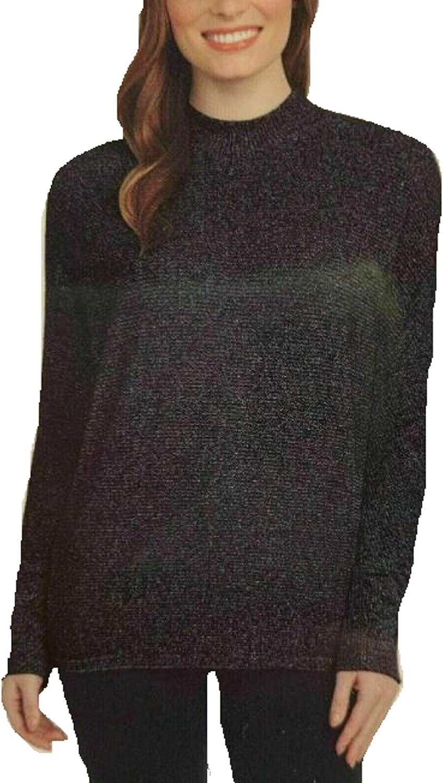 Matty M Ladies' Mock ショップ Neck Top 受注生産品