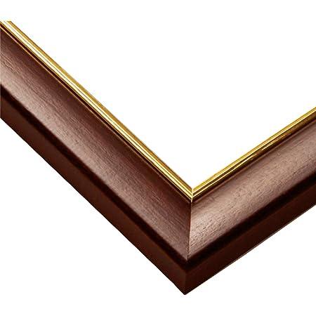 エポック社木製パズルフレームウッディーパネルエクセレントゴールドラインブラウン(50x75cm)(パネルNo.10)