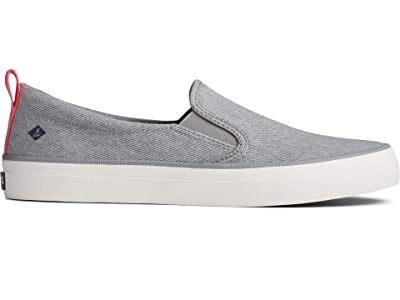 Sperry Crest Twin Gore Washed Twill (Grey) Women