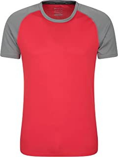 Mountain Warehouse Endurance, Maglietta da Uomo - Estiva, Traspirante, con Protezione UPF30, Leggera, Confortevole, Asciug...
