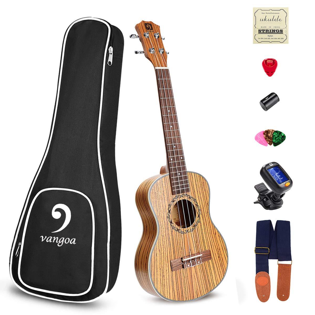 Ukulele Soprano Acoustic Beginners Vangoa