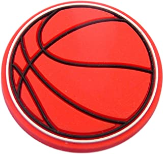 Basketball Rubber Charm for Wristbands and Shoes