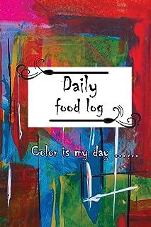 Daily Food Log: Color Is My Day / 8 Weeks / Mandala