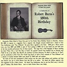 A Celebration Of Robert Burns's 250th Birthday