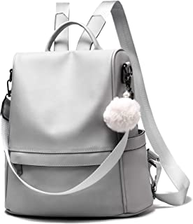 COCIFER Women Backpack Purse Anti-theft Fashion Leather Large Rucksack Ladies Shoulder Bags