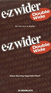 EZ WIDER DOUBLE WIDE ROLLING PAPERS 24 BOOKLETS