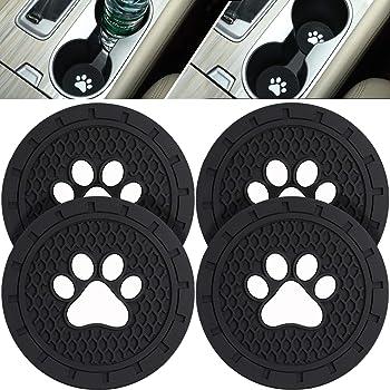 SUMUPUT Cup Holder Coasters Car Interior Accessories Diameter Car Logo Travel Auto Cup Holder Insert Coaster Can 2 Pcs for Mazda 2.75 Inch Mazda