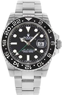 Rolex GMT Master II Automatic-self-Wind Male Watch 116710LN (Certified Pre-Owned)