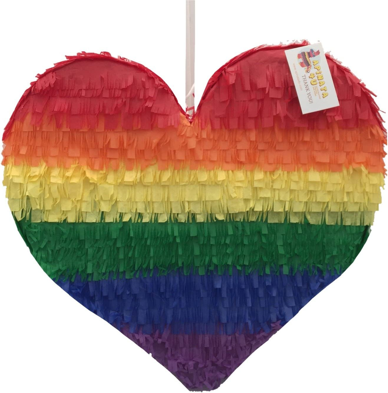 Rainbow Heart Free specialty shop shipping anywhere in the nation Pinata