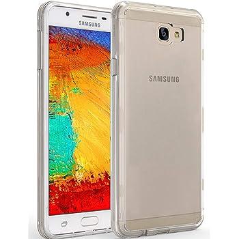 LUCKLYSTAR® Carcasa para Samsung Galaxy J7 Prime Slim Transparente ...