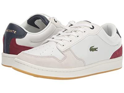 Lacoste Masters Cup 319 2 (Off-White/Navy/Dark Red) Women