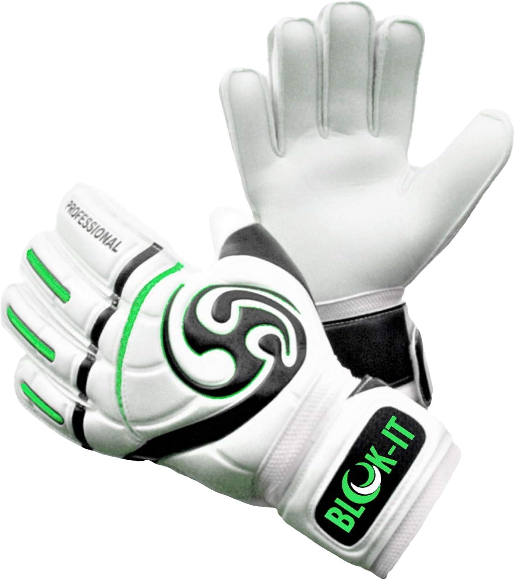 Vulcan Trident Soccer Goalie Goalkeeper Gloves Fingersave Youth Adult Size 7-11