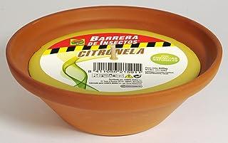 Compo Repelente Barrera de Insectos Vela de citronela, Antimosquitos, Perfumada, Terracota, hasta 30 h, 23 cm, 625 g