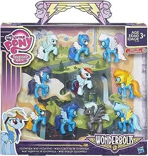 My Little Pony Friendship is Magic Wonderbolts Cloudsdale Mini Collection Exclusive 3 Mini Figure 10-Pack