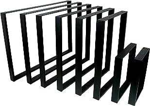 POKAR Stalen Tafelpoot, DIY Industriële Stijl Vierkante Frames voor Salon-, Woonkamertafels, Werkblad Metalen Poten voor M...