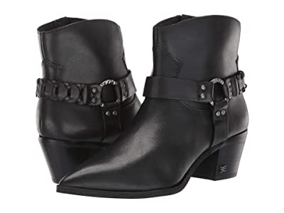 Sam Edelman Riker (Black Vaquero Saddle Leather) Women