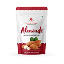 Nature Purify 100% Natural Premium Californian Almonds Value Pack Pouch,Dried,1kg