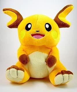Cuddly-store Raichu Plush Toy Stuffed Soft Doll - 7 Inch