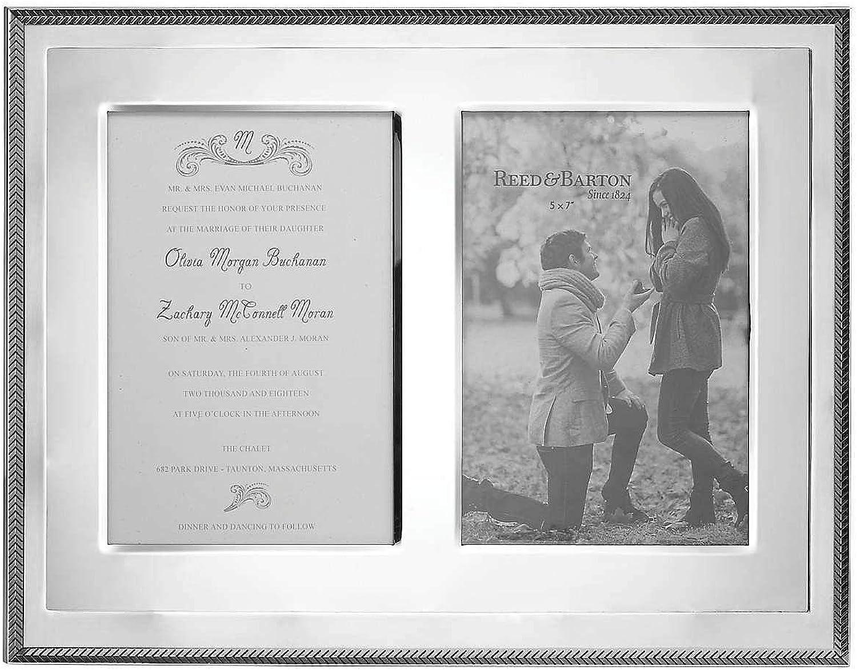Kenlie Double Invitation Frame 5x7 Prints Reed & Barton - 5x7