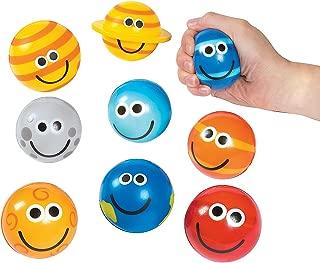 Fun Express Solar System Stress Balls (9 Piece Set)
