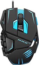 Mad Catz M.M.O.TE Tournament Edition Gaming Mouse for PC -Matte Black