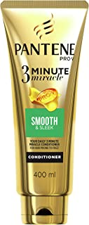 Pantene Smooth & Sleek Conditioner 3 Minute Miracle 400ml