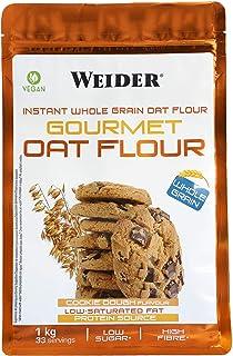 comprar comparacion Weider Oat Gourmet. Harina de Avena Integral. Fuente de proteína con bajo contenido en azúcares. Sabor Cookie (1 kg)