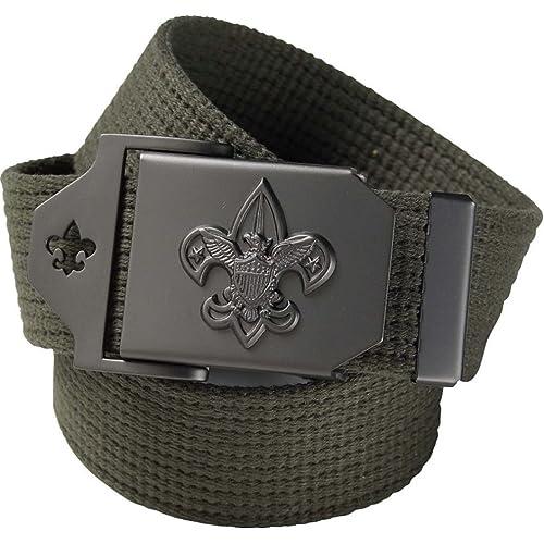 2117503549c Boy Scout Uniform Belt - Official BSA Apparel