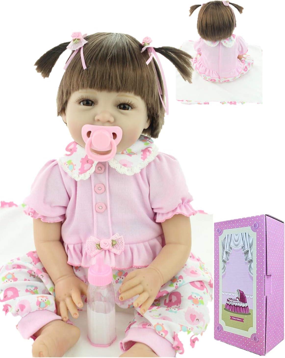 Reborn Baby Limited price Seattle Mall Girls Dolls Realistic Silicone Inc 22 Lifelike Vinyl